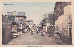 Sierra Leone - Freetown - Fourah Bay Road - 1911 - Sierra Leone