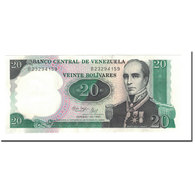 Billet, Venezuela, 20 Bolivares, 1989, 1987-10-20, KM:71, NEUF - Venezuela