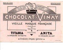 BUVARD CHOCOLAT VINAY - Non Classés
