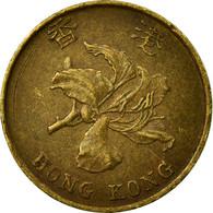 Monnaie, Hong Kong, Elizabeth II, 10 Cents, 1997, TTB, Brass Plated Steel, KM:66 - Hong Kong