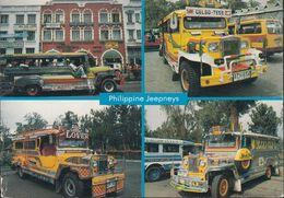 Philippinen - Jeepneys - Cars - Nice Stamp - Filippine