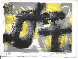 Art LITHO Lithographie De Jun DOBASHI N °20/100 (M Et Madame DOBASHI Vous Présentent Leurs Meilleurs Voeux) - Lithographies