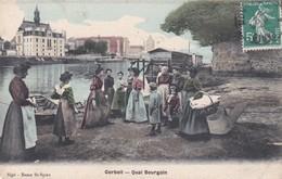 CORBEIL  QUAI  BOURGOIN - Corbeil Essonnes