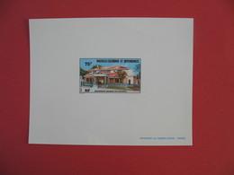 Epreuve De Luxe Nouvelle Calédonie Et Dépendances - 75 F Ancienne Mairie De Nouméa - Sin Dentar, Pruebas De Impresión Y Variedades