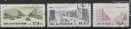 COREA DEL NORD 1969 VEDUTE YVERT. 816-818 USATA VF - Corea Del Nord