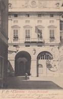 SAVONA-PALAZZO MUNICIPALE-CARTOLINA VIAGGIATA IL 5-6-1902 - Savona