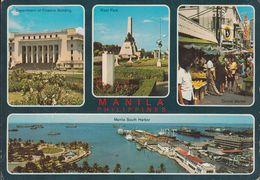 Philippinen - Manila - Views - Harbour - Ships - Siehe Stempel ( Keine Briefmarke ! ) - Philippinen