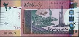 SUDAN - 20 Pounds 09.07.2006 UNC P.68 - Soudan