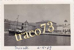 TRIESTE _ 1939 /  Veduta Del Porto _ Foto Formato 6,5 X 9,5 Cm. - Luoghi