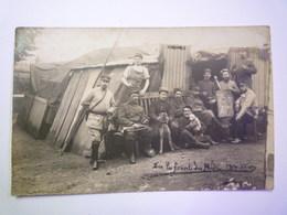 GP 2019 - 602  Carte PHOTO De Militaires Du  144 è Régiment Cantonnés à  Bordeaux   1915   XXX - Régiments