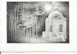 Art   Gravure Originale  De Mario AVATI ( Peintre Et Graveur Français) - Estampes & Gravures