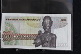 M-An / Billet  - EGYPT - Central Bank Of Egypt  - 50  Piastres Banknotes  /  Année ? - Egypte