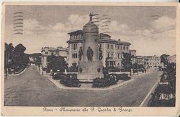 1937 ROMA - MONUMENTO ALLA R. GUARDIA DI FINANZA  -Q0606 - Roma (Rome)