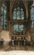 VALMONT - LOT De 7 Cartes Sur L'Abbaye Vitraux Chapelle Château Ruines Eglise - Valmont