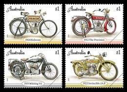 Australia 2018 Mih. 4833/36 Vintage Motorcycles MNH ** - 2010-... Elizabeth II