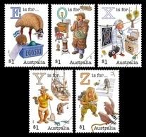 Australia 2018 Mih. 4841/45 Fair Dinkum Aussie Alphabet. Fauna. Medicine. Ship MNH ** - 2010-... Elizabeth II
