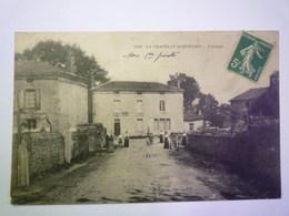 GP 2019 - 604  LA CHAPELLE-SAINT-ETIENNE  (Deux-Sèvres)  :  L'Entrée   1915   XXX - Autres Communes
