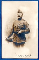 Carte Photo   -  Soldat - War 1914-18