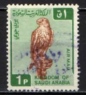 ARABIA SAUDITA - 1968 - UCCELLO - FALCO - USATO - Arabia Saudita