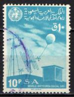 ARABIA SAUDITA - 1967 -  GIORNATA MONDIALE DELLA METEREOLOGIA - USATO - Arabia Saudita