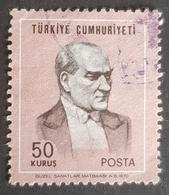 1970-1971, Ataturk, Turk Postalari, Republic, Türkiye, Turkey - Gebraucht
