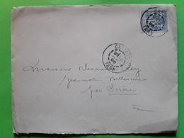 Lettre Locale , Avocat  De CASTRES, Tarn,14 Septembre 1898 S SAGE 15 C No 101 > Belleserre Par SOREZE - 1877-1920: Semi Modern Period