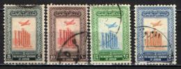GIORDANIA - 1953 - TEMPIO DI ARTEMIDE - JERAS - CON FILIGRANA - USATI - Giordania