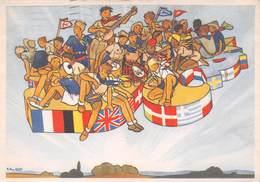 Scoutisme - Jamboree 1947 - Très Beau Dessin De Pierre Joubert - Editions P.P. Ozanne - Padvinderij
