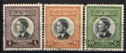 GIORDANIA - 1959 - EFFIGIE DEL RE HUSSEIN DI GIORDANIA - USATI - Giordania