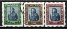 GIORDANIA - 1975 - KING HUSSEIN - USATI - Giordania