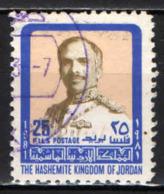 GIORDANIA - 1980 - RE HUSSEIN DI GIORDANIA - USATO - Giordania
