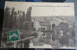 Cpa - 12 - Villefranche De Rouergue - Le Moulin Des Chanoines - Villefranche De Rouergue