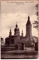 LATVIA LETTLAND BAUSKA ORTHODOX CHURCH PHOTO POSTCARD 1915 - Lettonie
