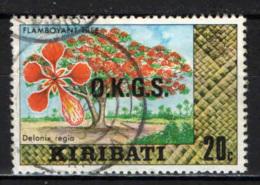 KIRIBATI - 1981 - Flamboyant Tree - USATO - Kiribati (1979-...)