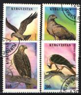 KIRGHIZSTAN - 1995 - UCCELLI RAPACI - USATI - Kirghizstan