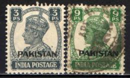 PAKISTAN - 1947 - EFFIGIE DEL RE GIORGIO VI CON SOVRASTAMPA - USATI - Pakistan