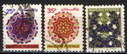PAKISTAN - 1980 - DISEGNI ORNAMENTALI - USATI - Pakistan