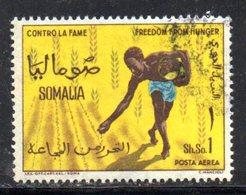 XP4313 - SOMALIA 1963 , Posta Aerea Serie Yvert N. 22  Usata .  Fame - Somalia (1960-...)