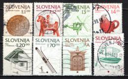 SLOVENIA - 1993 - TURISMO, ARTIGIANATO, STORIA - USATI - Slovenia