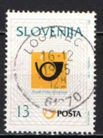SLOVENIA - 1995 - CORNO DI POSTA - USATO - Slovenia