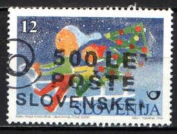 SLOVENIA - 1995 - NATALE LAICO - USATO - Slovenia