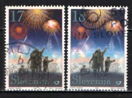 SLOVENIA - 1999 - FESTA DI CAPODANNO - USATI - Slovenia