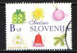SLOVENIA - 2003 - DECORAZIONI NATALIZIE - USATO - Slovenia