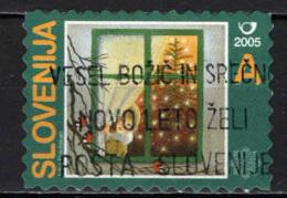 SLOVENIA - 2005 - ALBERO DI NATALE - USATO - Slovenia