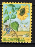 SLOVENIA - 2005 - GIRASOLE - USATO - Slovenia