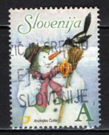 SLOVENIA - 2006 - PUPAZZO DI NEVE - USATO - Slovenia