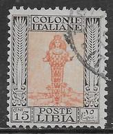 Italia Italy 1926 Libia Pittorica Dent11 C15 Sa N.62 US - Libia
