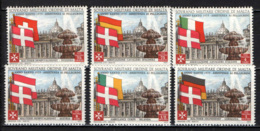 SMOM - 1975 - ANNO SANTO - ASSISTENZA AI PELLEGRINI - SERIE COMPLETA - MNH - Sovrano Militare Ordine Di Malta