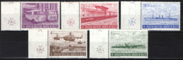 SMOM - 1976 - ASSISTENZA NEI TEMPI MODERNI: AMBULANZA, TRENO OSPEDALE, ELICOTTERI, NAVE OSPEDALE, AEREI - MNH - Sovrano Militare Ordine Di Malta