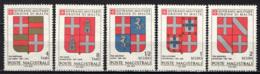 SMOM - 1980 - STEMMI DEI GRAN MAESTRI CHE HANNO REGNATO A RODI DAL 1193 AL 1231 - 3^ SERIE - MNH - Sovrano Militare Ordine Di Malta